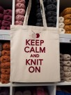 Keep calm and knit on thumbnail