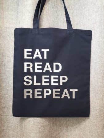 Eat, read, sleep, repeat