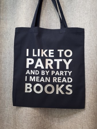 I like to party ... read books